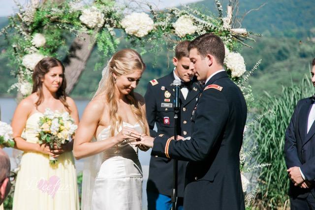 Ceremony Hudson Valley Military Wedding Destination Wedding Planner Florist July 4th