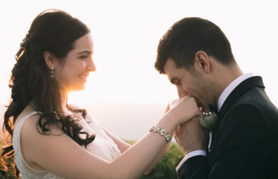Wedding Florist Hudson Valley Rustic Outdoor Event Planner Romantic Bouquet Love Sunset The Garrison