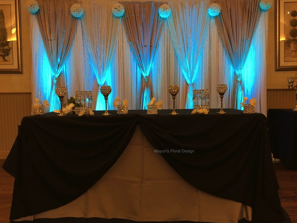 Draping Event Decor Planner Fabric Backdrop